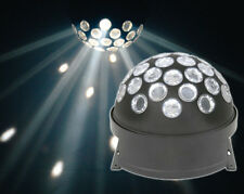 QTX LED luz de Fiesta Discoteca DJ Giratorio Bola De Fuego Brillante Luz Blanca Brillante