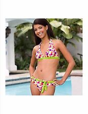 Women's Ladies 4  Bikini Swim Suit Tinkerbell swimsuit Tinker Bell Polka Dot New