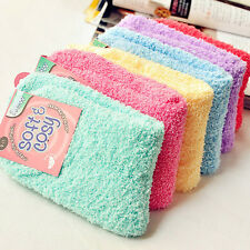 1Pair Winter Elastic Fuzzy Cozy Warm Thicken Soft Crew Towel Floor Socks Hosiery