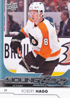 17/18 UD..ROBERT HAGG..YOUNG GUNS..# 232..FLYERS..FREE COMBINED SHIPPING