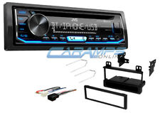 NEW JVC CAR BLUETOOTH RADIO CD PLAYER RECEIVER WITH COMPLETE INSTALLATION KIT