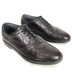 Red Wing Mens Leather Dress Shoes 10.5 D Style 8628 Cordovan Wingtip Oxfords USA