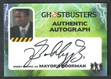 GHOSTBUSTERS (Cryptozoic 2016) AUTOGRAPH CARD #BB BOBBY BROWN NEW EDITION