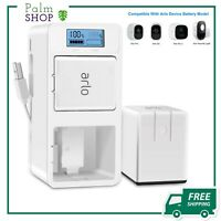 Arlo Rechargeable Battery Charger Station, Dual Batteries, type C, USB Cable New