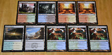 Magic the Gathering Collection Rare Lands