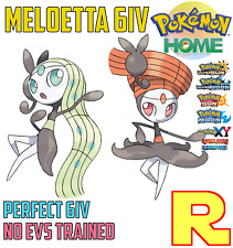 6IV MELOETTA  (+ITEM!) ☀️ ULTRA SUN & MOON / HOME 🌙 Legit Pokemon