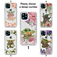 Case Star Wars Baby Yoda Galaxy s20 s10 S9 + Note 20 10 Ultra Silicone clear SN