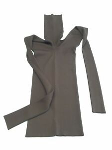 MARNI longsleeve Turtle Neck Sweater Knit Dark brown Rib Size IT 38 UK 6 / XS