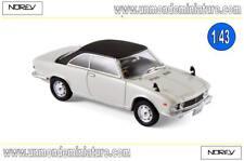 Mazda Luce Rotary Coupé 1969 White & Black  NOREV - NO 800642 - Echelle 1/43