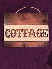 Cottage Wood Hanging Sign