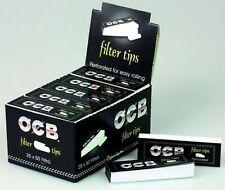 OCB PERFORATED FILTER TIPS ROACHES ROACH CARDBOARD SMOKING GENUINE