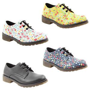 Ladies Heavenly Feet Shoes Vintage Fashion Retro Comfort Vegan Lace Ups Brogues