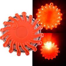 LED Warnleuchte Auto Warnblinkleuchte Magnet 16 LED 9 Funktionen 360° Warnlicht