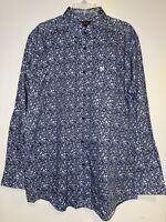 ARIAT Men's Long Sleeve Dress Shirt Size L