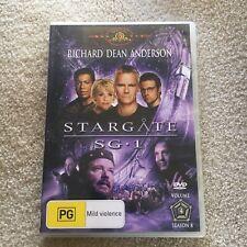 STARGATE SG.1 DVD. VOLUME 4, SEASON 8.