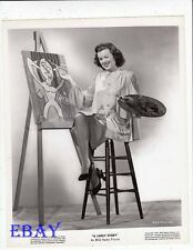 Barbara Hale sexy leggy VINTAGE Photo A Likely Story
