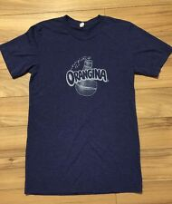 Tri Blend T Shirt Purple Orangina Soda Drink Women's Hipster Logo Small