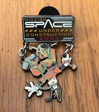 DISNEY LE 3000 MISSION SPACE UNDER CONSTRUCTION GOOFY DANGLE PIN