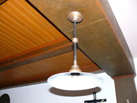 Prunkvolle Original  Jugendstil Lampe Deckenlampe Jugendstillampe ca. 1910