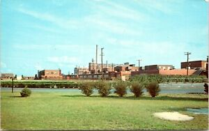 Delaware Postcard Seaford Dupont Nylon Plant Sussex County 1960s AA