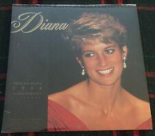 Princess Diana 1998 Commemorative Calendar Princess of Wales Queen New Sealed
