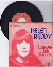 """Helen Reddy, leave me alone, G/VG, 7"""" single 1009-9"""