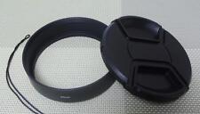 82 mm Metal Lens Hood + 86 mm Cap for Standard Camera Lens 82SC86