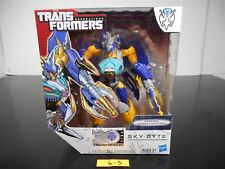 NEW & SEALED!!! TRANSFORMERS GENERATIONS SKY-BYTE ACTION FIGURE THRILLING 30 6-5