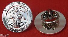 St Jude Thaddeus Apostle Lapel Hat Cap Tie Pin Badge Judas Lebbaeus Saint Brooch