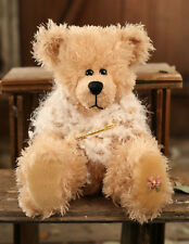 Teddy Bear Penelope Settler Bears Handmade White Shawl Collectable Gift 38cms