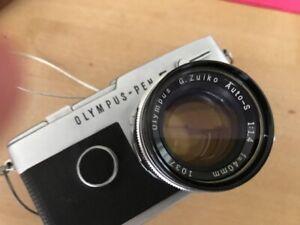 Olympus Pen F Sammler mit Objektiven