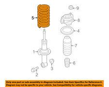 SUBARU OEM 15-16 WRX Rear Suspension-Coil Spring 20380VA020