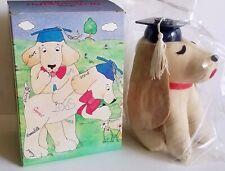 New in Box 1980 Avon Graduation Graduate Autograph Hound Dog Vintage