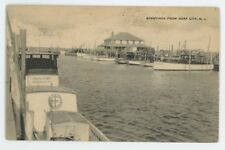 Greetings from SURF CITY (Tuckerton) NJ Long Beach Island Jersey Shore Postcard
