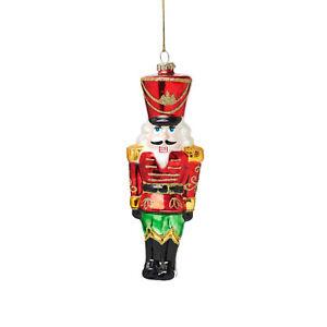 Sass & Belle Nutcracker Doll Shaped Christmas Tree Bauble Decoration