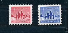 CANADA 1964 CHRISTMAS SG560/561  MNH