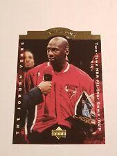 1996-97 UPPER DECK MICHAEL JORDAN NR.MINT/ MINT CHICAGO BULLS A CUT ABOVE #CA6