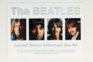 THE BEATLES | White Album | 50th Anniversary NUMBERED Lithograph Set | No 85/200