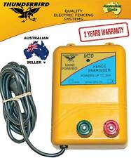 Thunderbird 2km M30 Mains Electric Fence Energiser, Suit Horse, Cattle Fencing