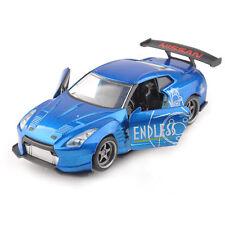 1/32 JADA Alloy Diecast 2009 Nissan GT-R (R35) Vehicle Blue Car Toy Gift