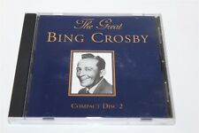 The Great Bing Crosby Compact Disc 2 CD