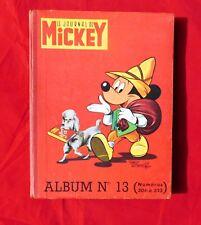 Journal de MICKEY Album 13 - n° 306 à 323 - Très bel état. 1958