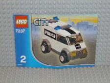 LEGO® City Bauanleitung 7237 Police Station Heft 2 instruction B2579