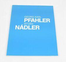 Georg Karl Nadler - István Nádler Kunstverein Göppingen 1993