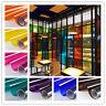 Transparent Window Film Color Solar Tint Self Adhesive Stain Glass Decor Vinyl