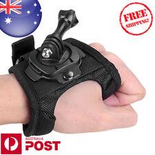 360° Rotation Glove Style Wrist Mount For GoPro HD Hero 1 2 3 3+ 4 Camera Z539F