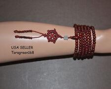 Wood Natural  6mm Beads Mala Tibet Buddha Bracelet For Meditation Prayer