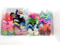 20pcs Hair Clip Bowknot Baby Girls Children Kids Flowers Accessories Hairpin