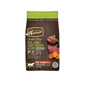 Merrick Grain Free with Real Meat + Sweet Potato Dry Dog Food Lamb 22 LB