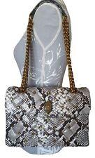 Kurt Geiger Leather Snake Kensington Bag £229 Soft Quilted Studded